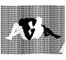 Mixed Martial Arts MMA Kimura Arm Lock Poster