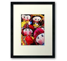 Fair Trade Dolls Framed Print