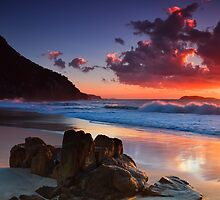 Zenith Beach Sunrise by Sharon Bree