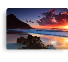Zenith Beach Sunrise Canvas Print