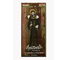 Saint Francis of Assisi Photographic Print