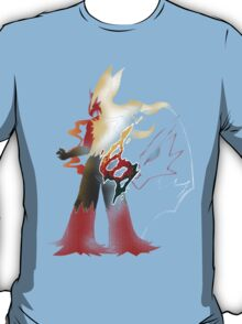Pokemon Blaziken - Fire Fight Power T-Shirt