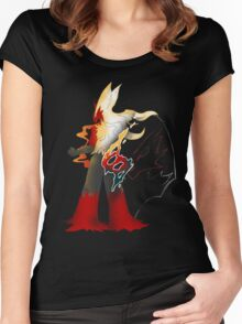 Fire Fight Power Women's Fitted Scoop T-Shirt