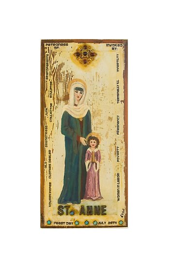 """Saint Anne by Sher   """"ESSA"""" Chappell"""
