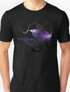 Mega rayquaza and space - Black Version Unisex T-Shirt