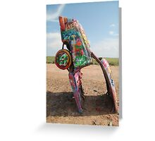 Cadillac Ranch Car Greeting Card