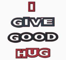 i give good hug - sticker by vampvamp