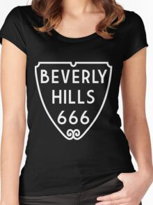 Beverly Hills 666 Women's Fitted Scoop T-Shirt
