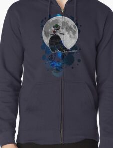 Gardevoir magical night Zipped Hoodie