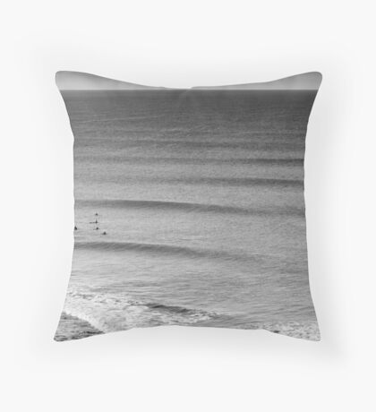 Swell Lines Throw Pillow