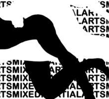 Mixed Martial Arts Kneebar 2  Sticker