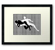 Mixed Martial Arts Kneebar 2  Framed Print