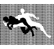 Mixed Martial Arts Kneebar 2  Photographic Print