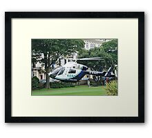 Kent Air Ambulance, St.Leonards Framed Print