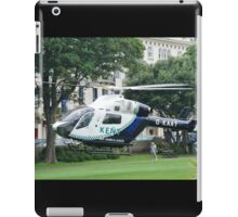 Kent Air Ambulance, St.Leonards iPad Case/Skin