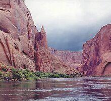 A Stormy Colorado River Canyon, Arizona, USA by Adrian Paul