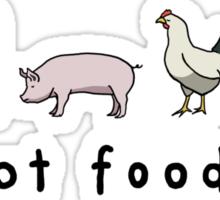 Not Food Sticker