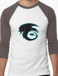 How to train your dragon - Toothless Symbol Men's Baseball ¾ T-Shirt