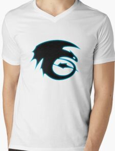How to train your dragon - Toothless Symbol Mens V-Neck T-Shirt
