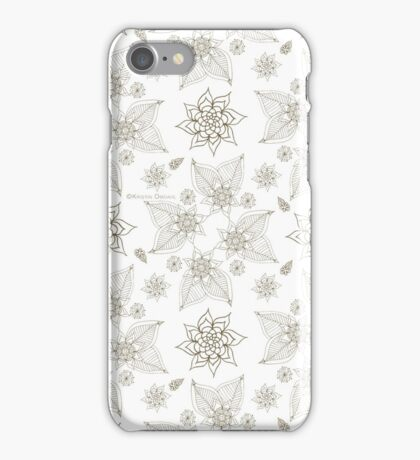 Gilded Roses iPhone Case/Skin