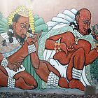 Mural Honoring Gandi, Tolstoy, Chavez... by DAdeSimone