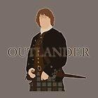 Jamie Fraser III - Outlander by Mivaldi