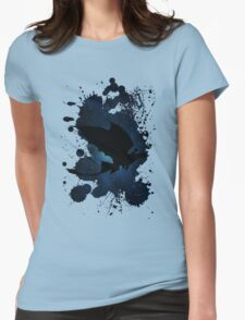 How to train your dragon - Toothless and Hiccup night Womens Fitted T-Shirt