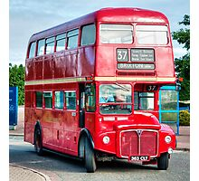 London Transport Routemaster Bus Photographic Print