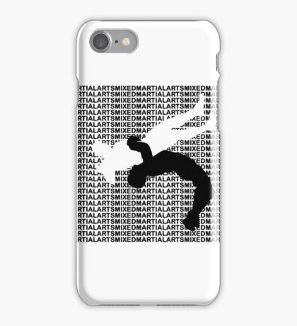 Mixed Martial Arts Freestyle Wrestling Suplex MMA  iPhone Case/Skin