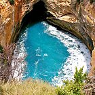 Blow Hole, Great Ocean Road, Victoria, Australia by Cindy Ritchie