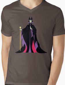 Maleficent Mens V-Neck T-Shirt