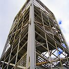 Stair Tower at University of Arizona by DAdeSimone