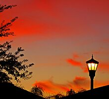 Suburban Sunset by designerbecky