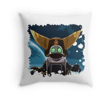Ratchet & Clank - A new adventure Throw Pillow