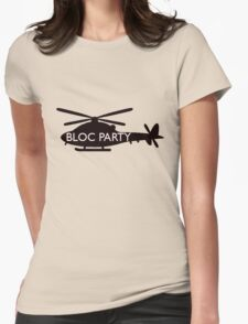 bloc party helicopter  Womens Fitted T-Shirt