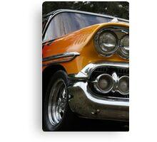 Flame Car Canvas Print