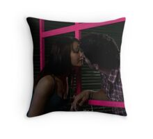A kiss is but a kiss Throw Pillow