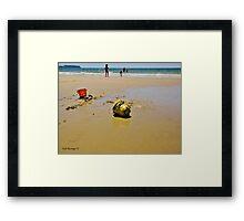 Summer at Somerset Framed Print