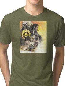 Fire & Blood Tri-blend T-Shirt