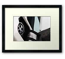 Mia electric graphic  Framed Print