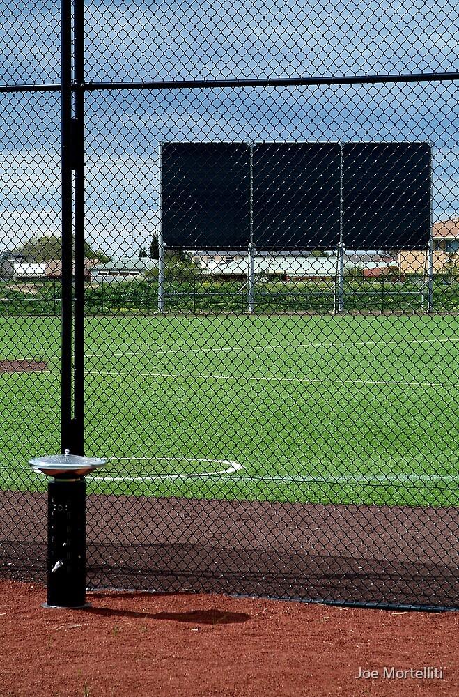 Baseball Field by Joe Mortelliti