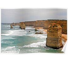 The Twelve Apostles, Great Ocean Road, Victoria, Australia Poster