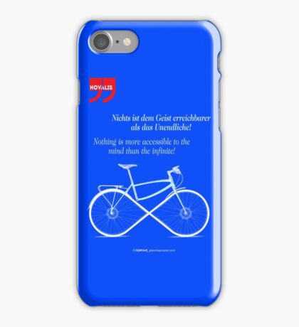 Ride To Infinity (quotation) iPhone Case/Skin