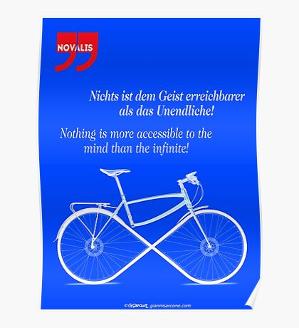 Ride To Infinity (quotation) Poster