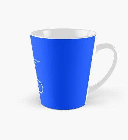 Ride To Infinity (quotation) Tall Mug