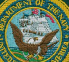 Navy Police Sticker