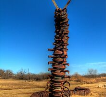 Soon-to-be Iron Butterfly (Stamford, Texas) by Terence Russell