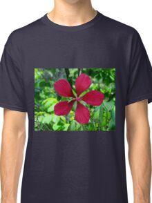 Big Red Flower Classic T-Shirt