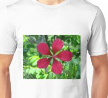 Big Red Flower Unisex T-Shirt