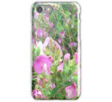 Pink Wildflowers iPhone Case/Skin
